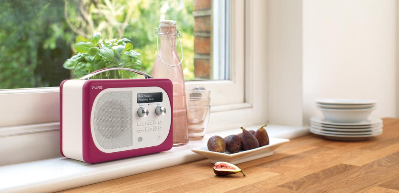 Evoke D4 Mio With Bluetooth Raspberry Lifestyle Kitchen